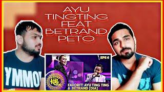 Indian reaction on FAVORIT! AYU TING TING FT BETRAND PETO [DIA] - KONTES KDI EPS 6 (26/8)