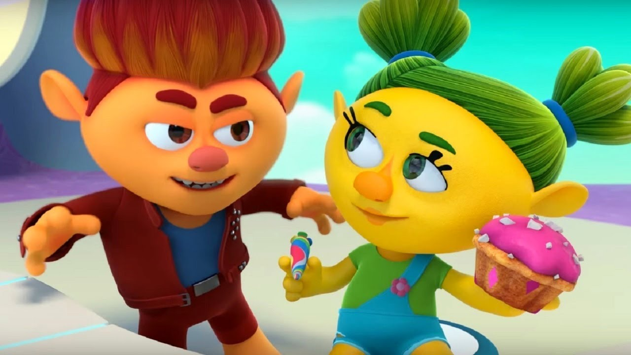 Монсики - все серии сразу - сборник - серии 4 -6– мультфильм для детей – чувства и эмоции