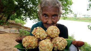 My 105 Grandma Making Peanut Laddu For World |పల్లి లడ్డు బాగా రావాలంటే |  |వేరుశనగ వుండలు