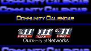Community Calendar 10/15/18