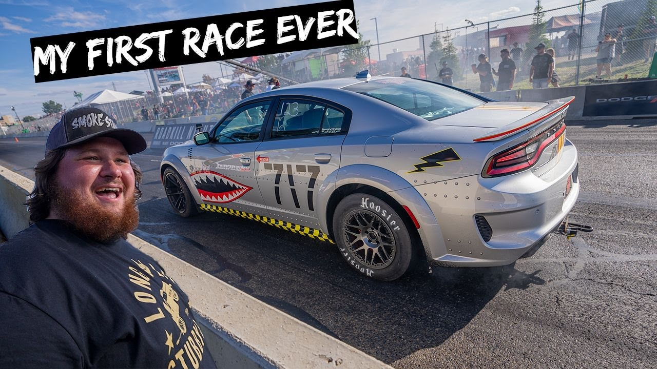 Download First Race with 1300HP Hellcat Jet with Twin Turbos