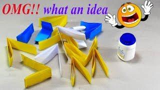 Best easy craft idea   DIY arts and crafts   Unique home deco DIY things