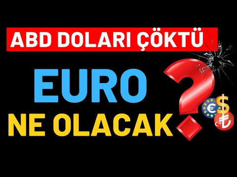 ABD DOLARI ÇÖKTÜ...!!! EURO NE OLACAK...? EUR/USD ANALİZ