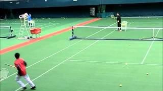 2013年3月9日 第49回島津全日本室内テニス選手権大会 テニスクリニック.
