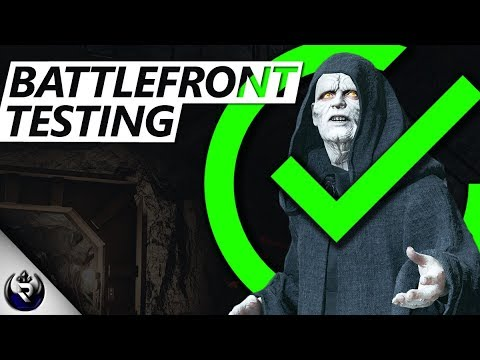 HOW TO USE PALPATINE! (Testing The Battlefront) - Star Wars Battlefront 2 Mythbusters
