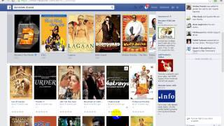 How to update your facebook profile - Hindi video tutorial