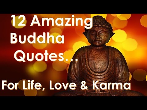 12 Perfect Budda Quotes for you to Reflect on in a Busy World - Quotes on Life -Love -Change + Karma