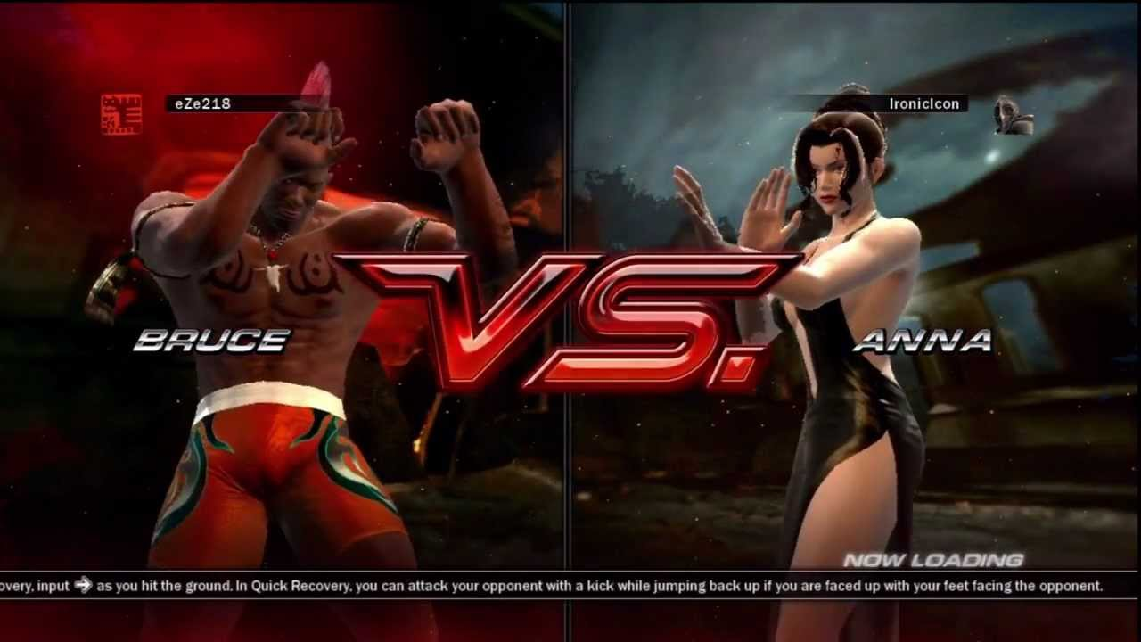 tekken 6 anna williams vs bruce irvin & hwoarang matches #3 12/16