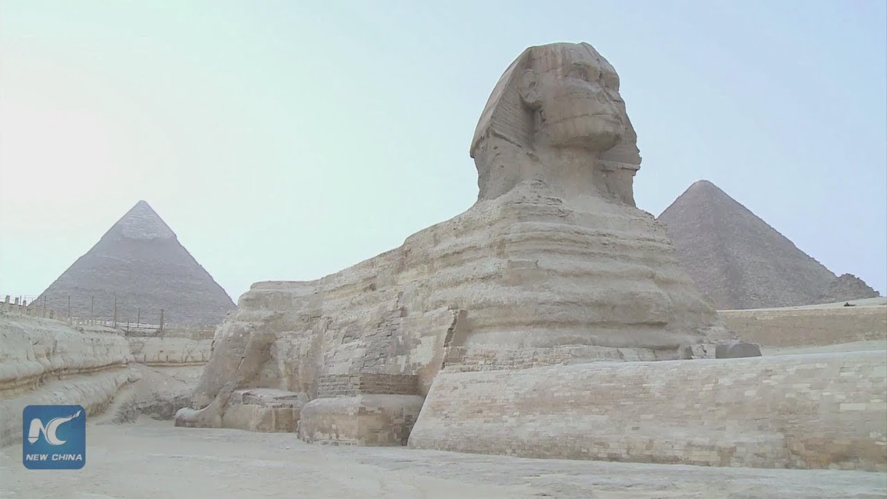Image result for Sandstone Sphinx egypt youtube