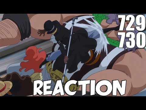 One Piece Episode 729 & 730 REACTION (MY BOY SABO VS BURGESS!!)