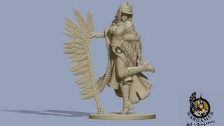 Winged hussar charge