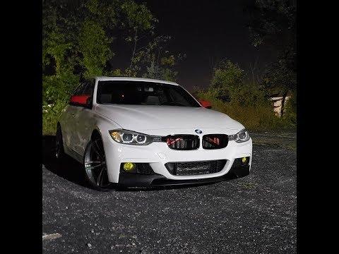 BMW F30 M Sport Front Bumper Conversion--- Great MOD!!!