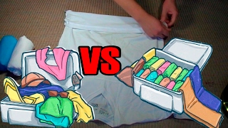 Army Packing Hack: How to Army Fold a T-Shirt ,The Best Ranger Roll Tutorial