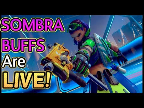 Playing Around With the New Sombra BUFFS!! (Overwatch)
