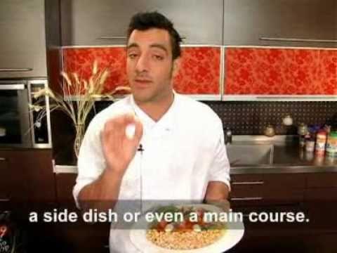 מתכוני סוגת: סלט קפרזה איטלקי עם קטניות וחיטה