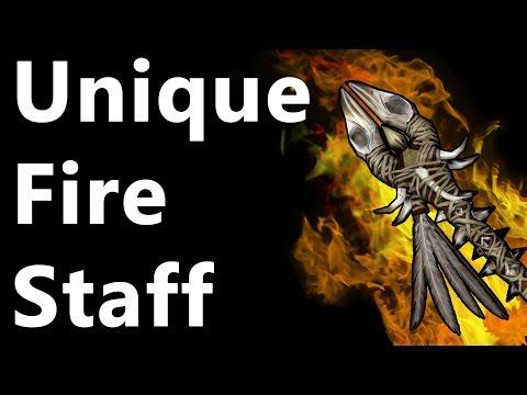 Skyrim: Fire Staff of Melka: Hidden Treasure (Blind Cliff Cave)