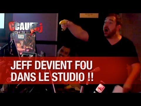 Jeff devient fou dans le studio à cause du karaoké qui tue ! - C'Cauet sur NRJ