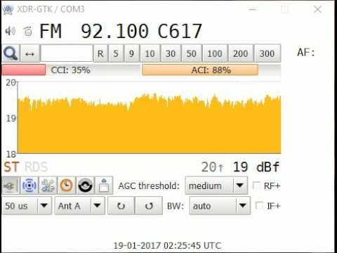 UK Tropo - BBC 3 Counties Radio -  Hemel Hemstead 50w relay transmitter - 19th Jan 2017