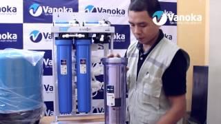 Trên tay Máy lọc nước bán công nghiệp #Karofi #KB50 - bởi #Vanoka