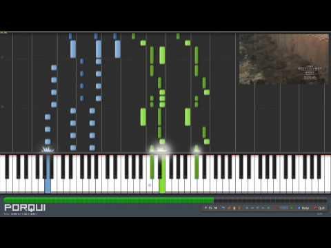 Shingeki no Kyojin Opening 1 - Guren no Yumiya (Piano Synthesia)