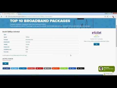 Best broadband connection | broadband plans | broadband providers | broadband comparison
