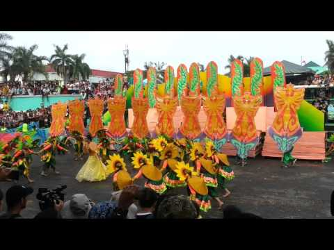 THE SUNFLOWER FESTIVAL of LIGAO CITY in DARAGANG MGAYON FESTIVAL 2k16