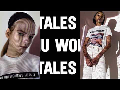 MIU MIU WOMEN'S TALES T-SHIRT EDITION