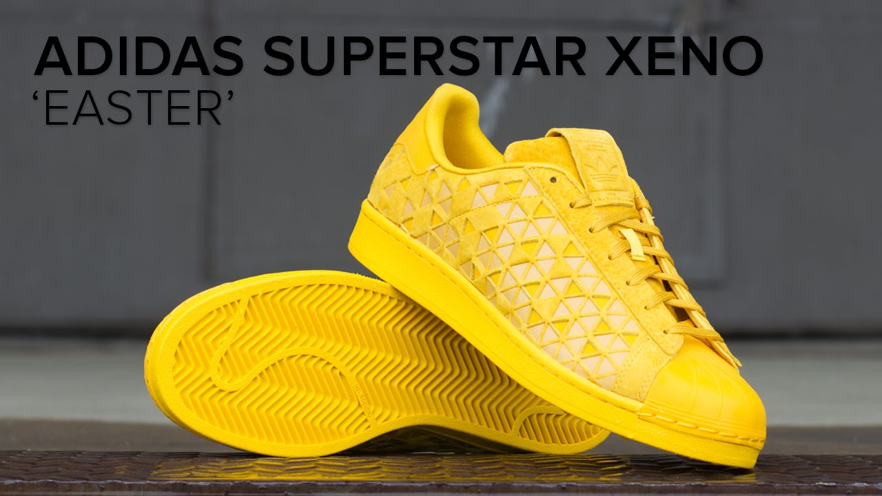 72f68f6d6 adidas Superstar Xeno  Easter  Quick Look - YouTube