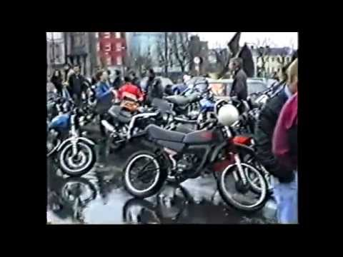 Galway bike protest, Feb 1992