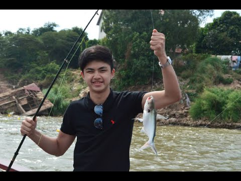 Fishing Tours in Cambodia - Catching Fishes Compilation Video