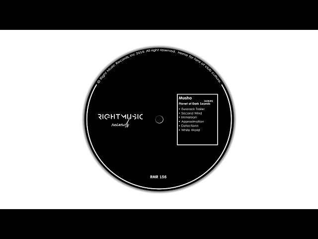 Musho - Detection (Original Mix) [Right Music Records]