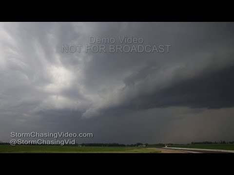 Strong Winds Heavy Rain Blue Earth and Waseca Counties - 6/10/2016