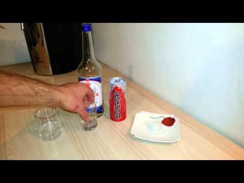 Водка с редбулом пропорции
