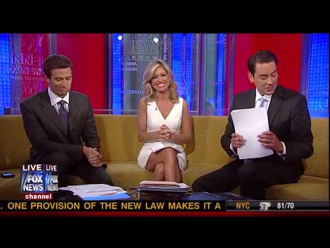 Ainsley Earhardt 'major cleavage' long version 7-3-11