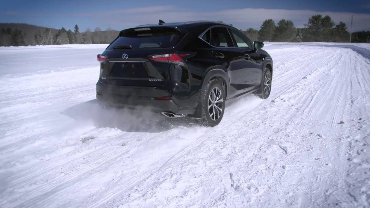 winter tires vs all season tires lexus nx youtube. Black Bedroom Furniture Sets. Home Design Ideas