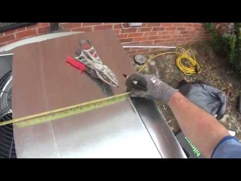 HVAC Installation: How To Build A Sheetmetal Duct Transition Or Blowout