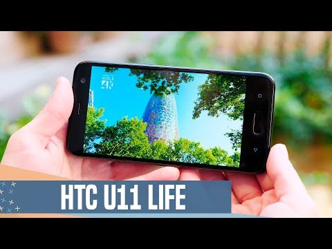 HTC U11 Life review, con ANDROID ONE