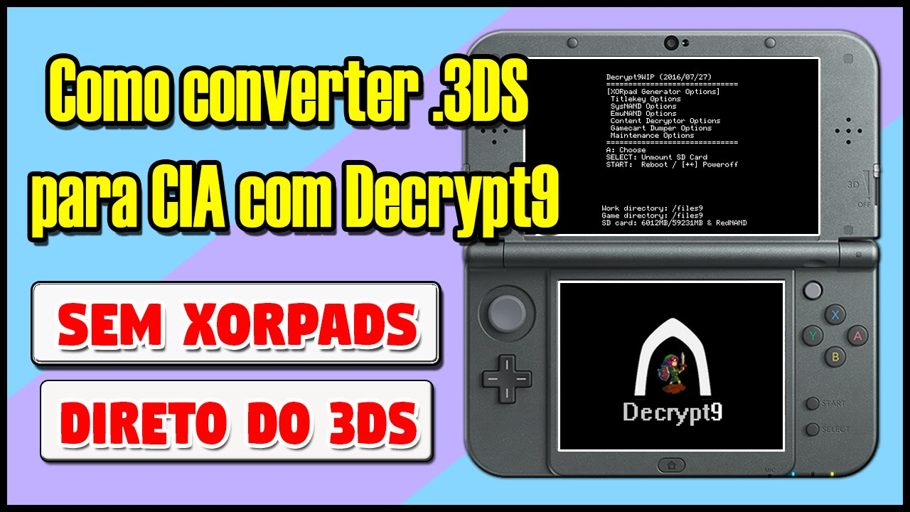 3ds to cia converter 4.1