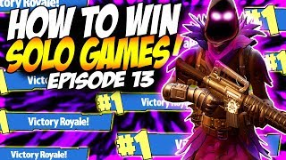 "New Raven Skin Victory Royale! | ""How To Win More Solo Games In Fortnite"""