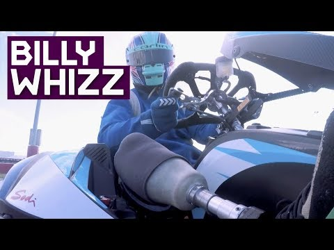 Billy Monger Races With Formula E Drivers!