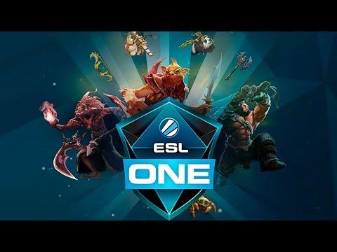 CG vs Fnatic ESL One Hamburg 2017 Southeast Asia Qualifier Game 1 bo3