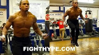 THE SKIPPING CHALLENGE AND THE 1, 2 STEP; ANTHONY YARDE SICK JUMP ROPE SKILLS