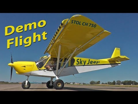 Demo flight: Zenith STOL CH 750 light sport utility kit