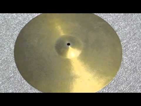 "16"" PAISTE FORMULA 602 - 987 Grams (at STEBAL DRUMS)"