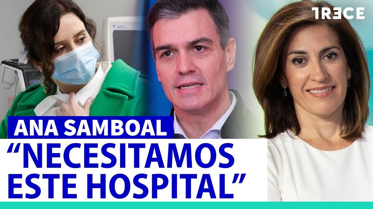"""Samboal: """"Es un error convertir el Isabel Zendal en una trifulca política"""""""