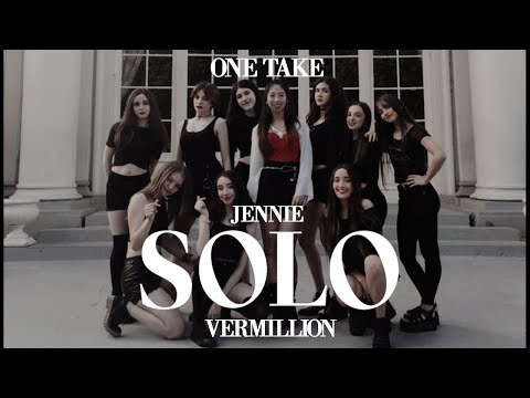 JENNIE - 'SOLO' DANCE COVER CONTEST by VERMILLION from URUGUAY