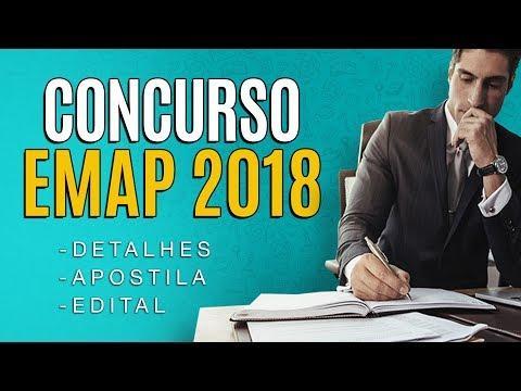 Concurso EMAP 2018 - Edital, Inscrição, vagas e Apostila!