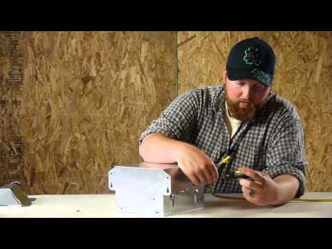 How to Wire a Ventilation Fan & Light : Ceiling Fan Maintenance