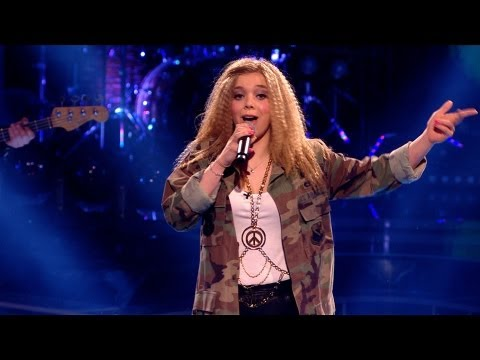 Becky Hill performs 'Seven Nation Army' - The Voice UK - Live Show 4 - BBC One