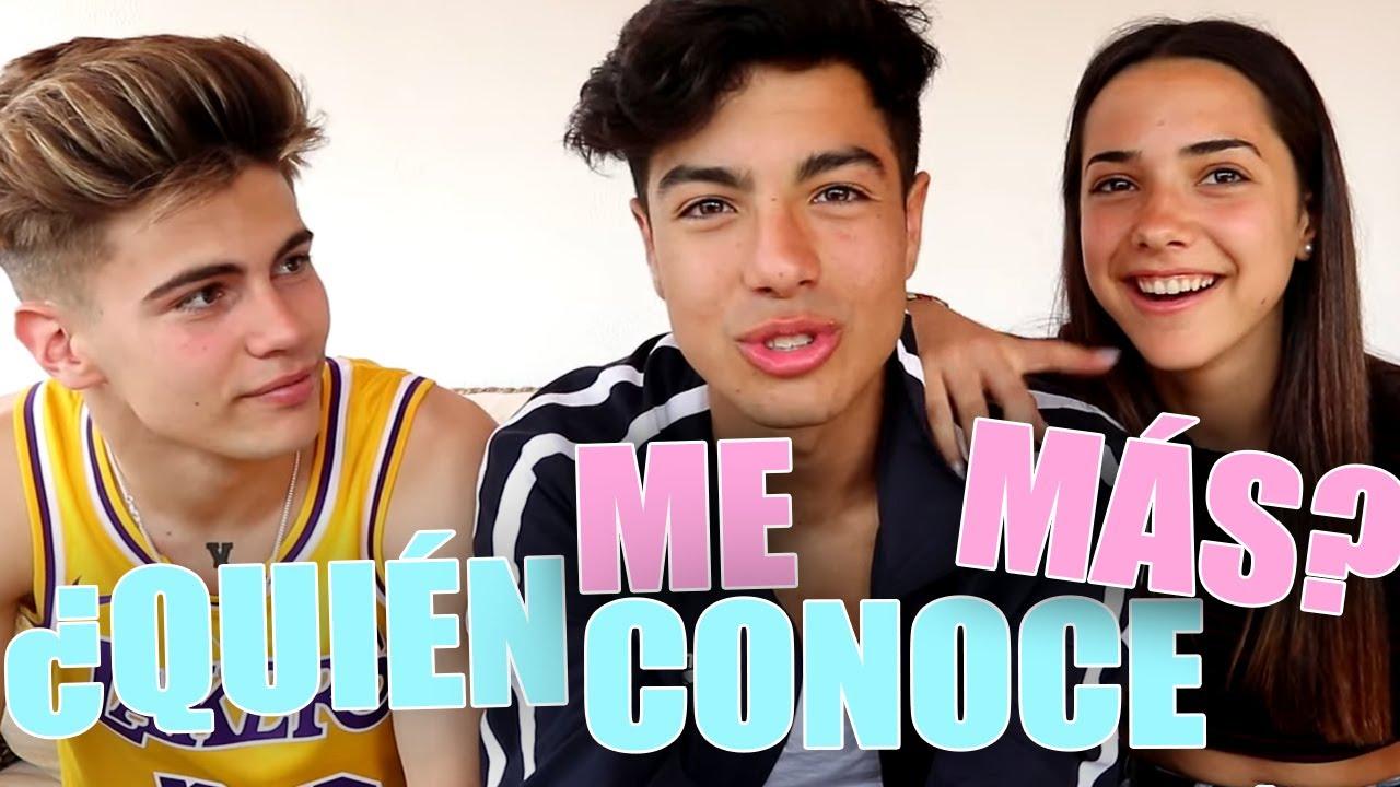 Quién Me Conoce Más Reto Entre Mi Novia Y Mi Mejor Amigo Naimdarrechi Youtube